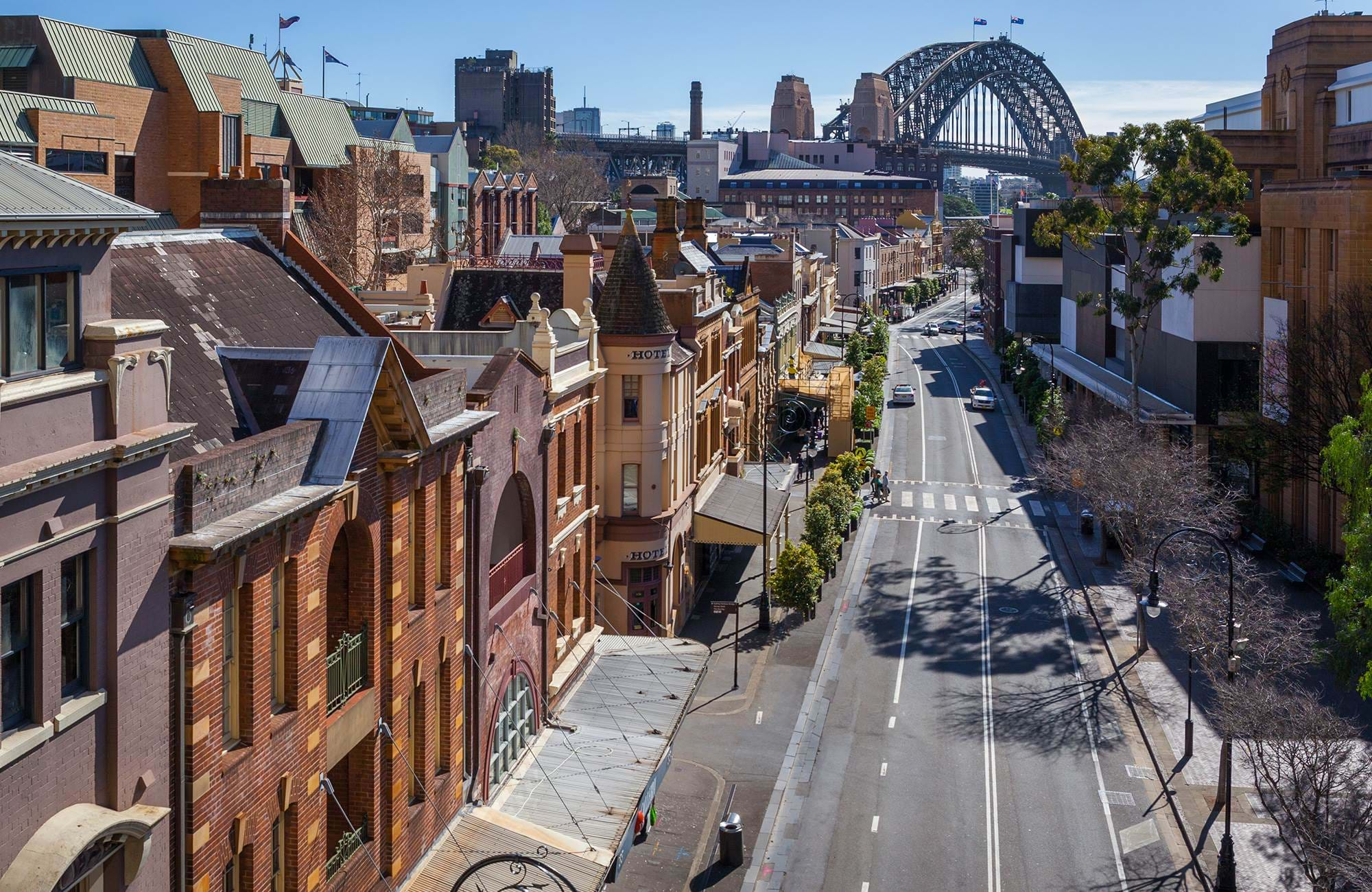 australia-sydney-the-rocks-george-street