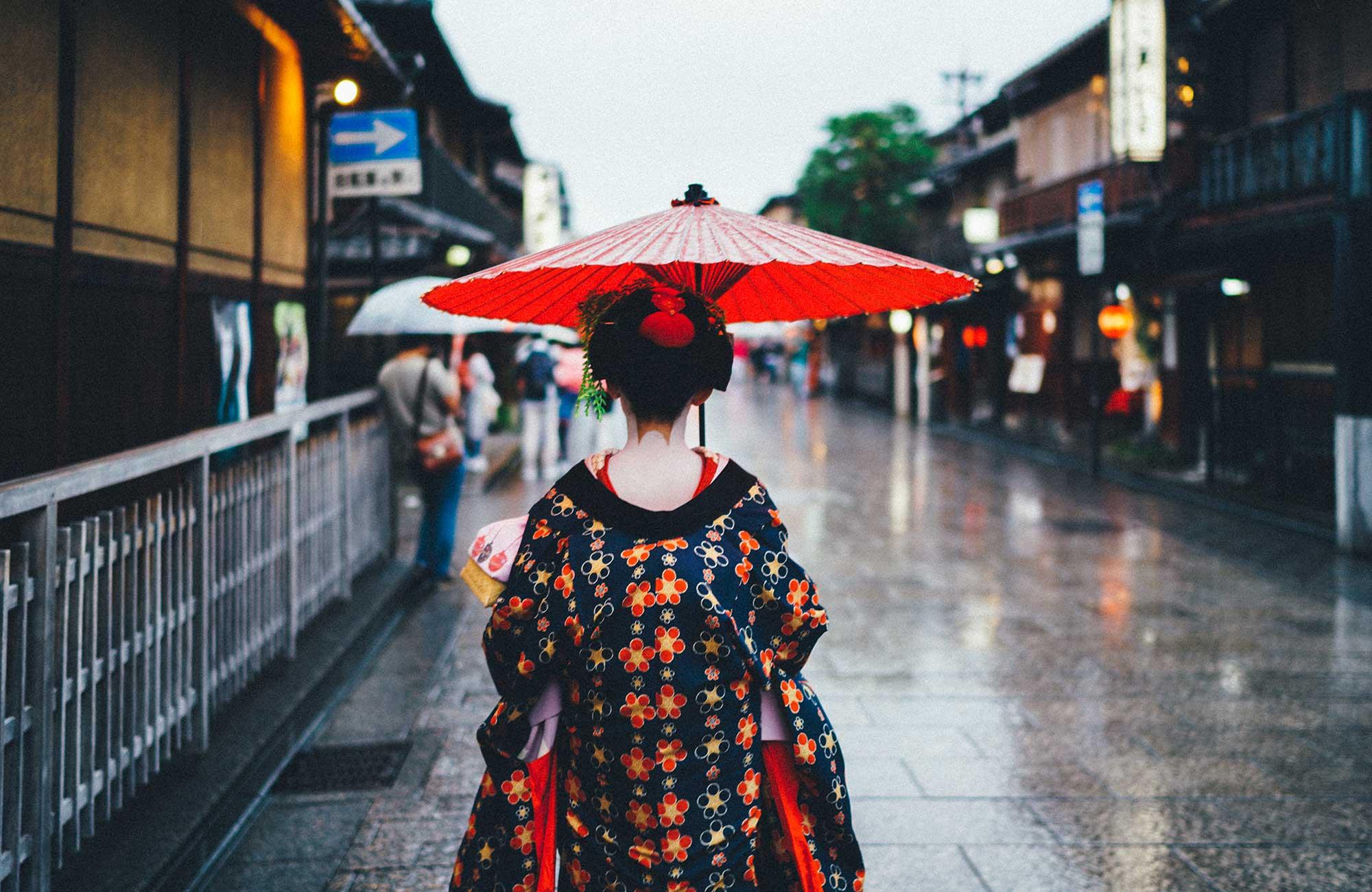 haka upp i Kyoto