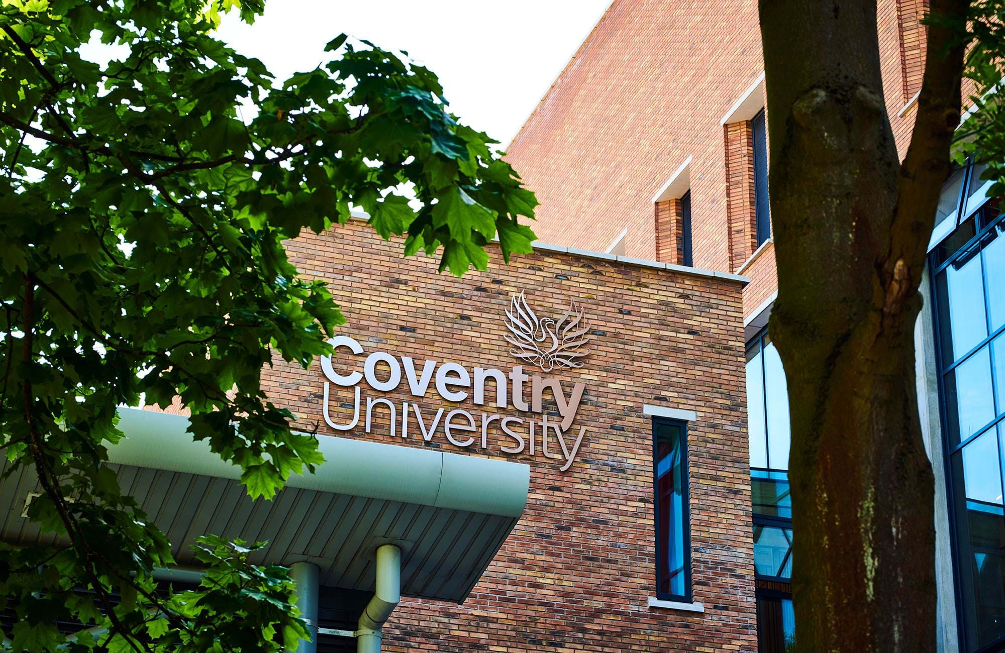 Campus Building Of Coventry University England