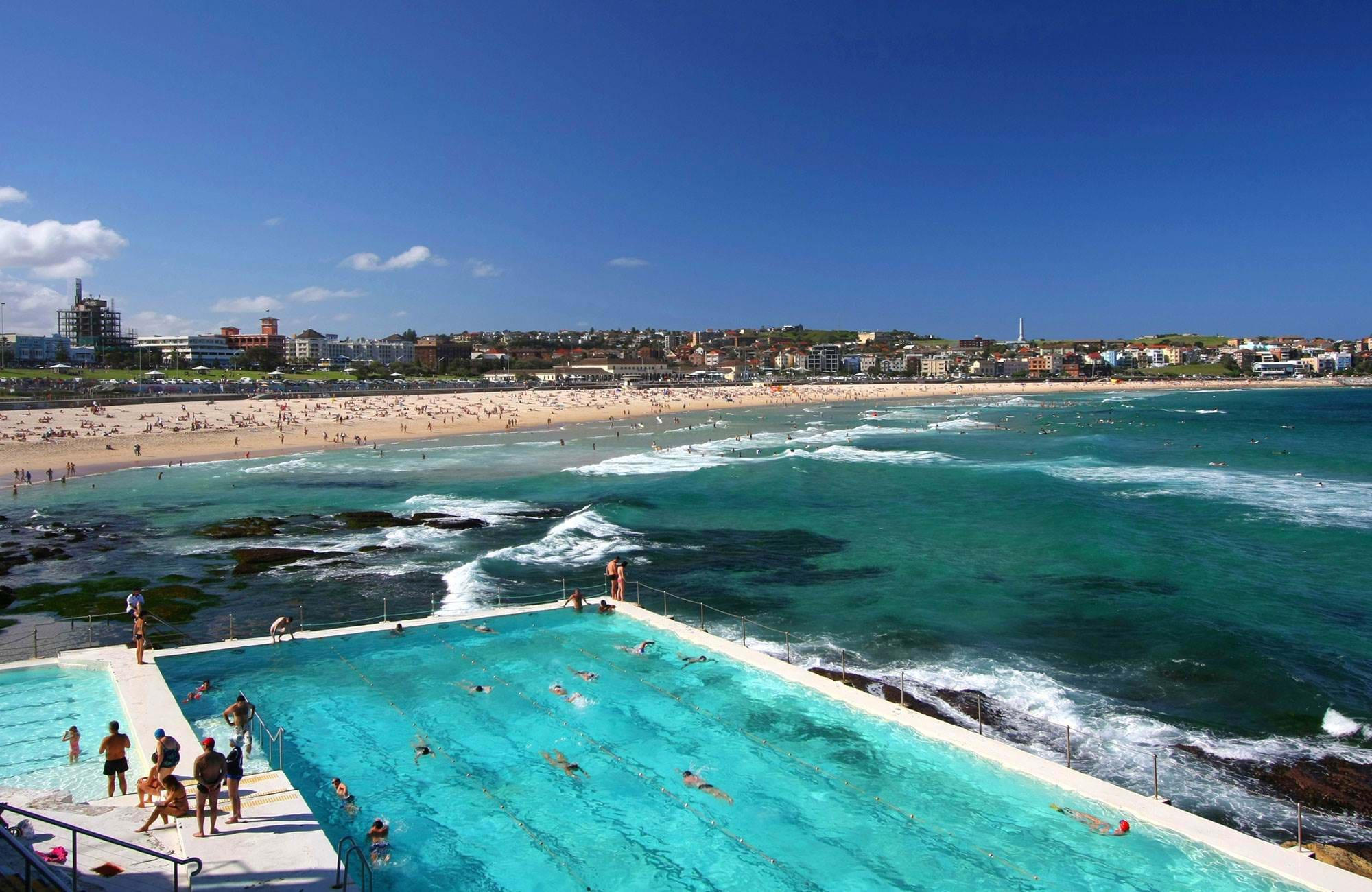 Bondi Beach Sydney Swimmingpool