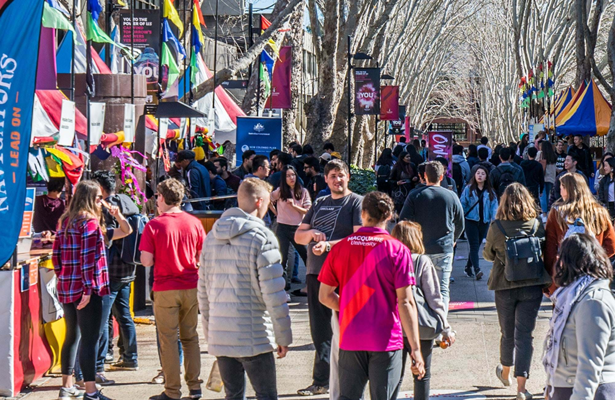Macquarie University Students Fair
