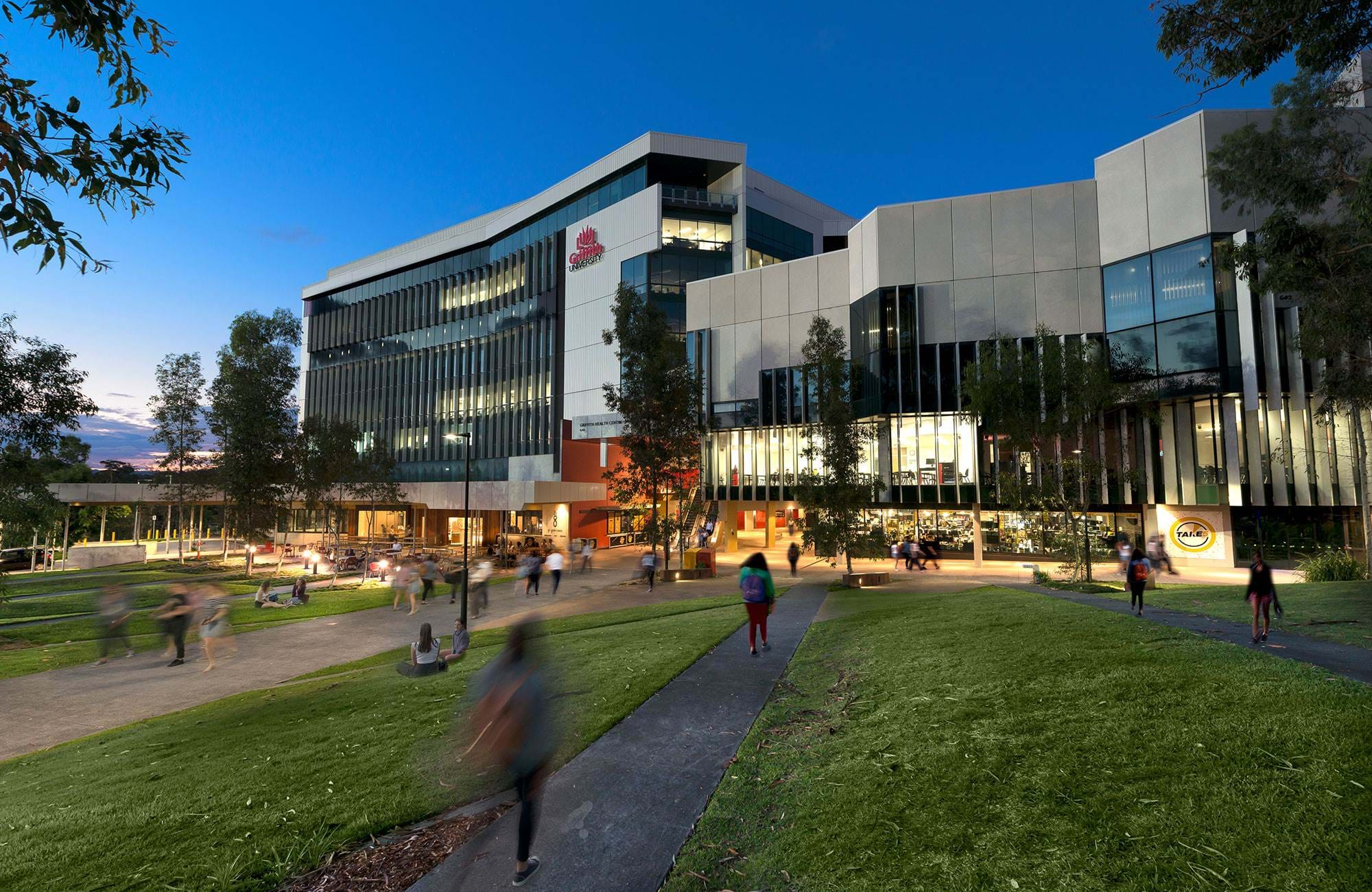 campus vid griffith university